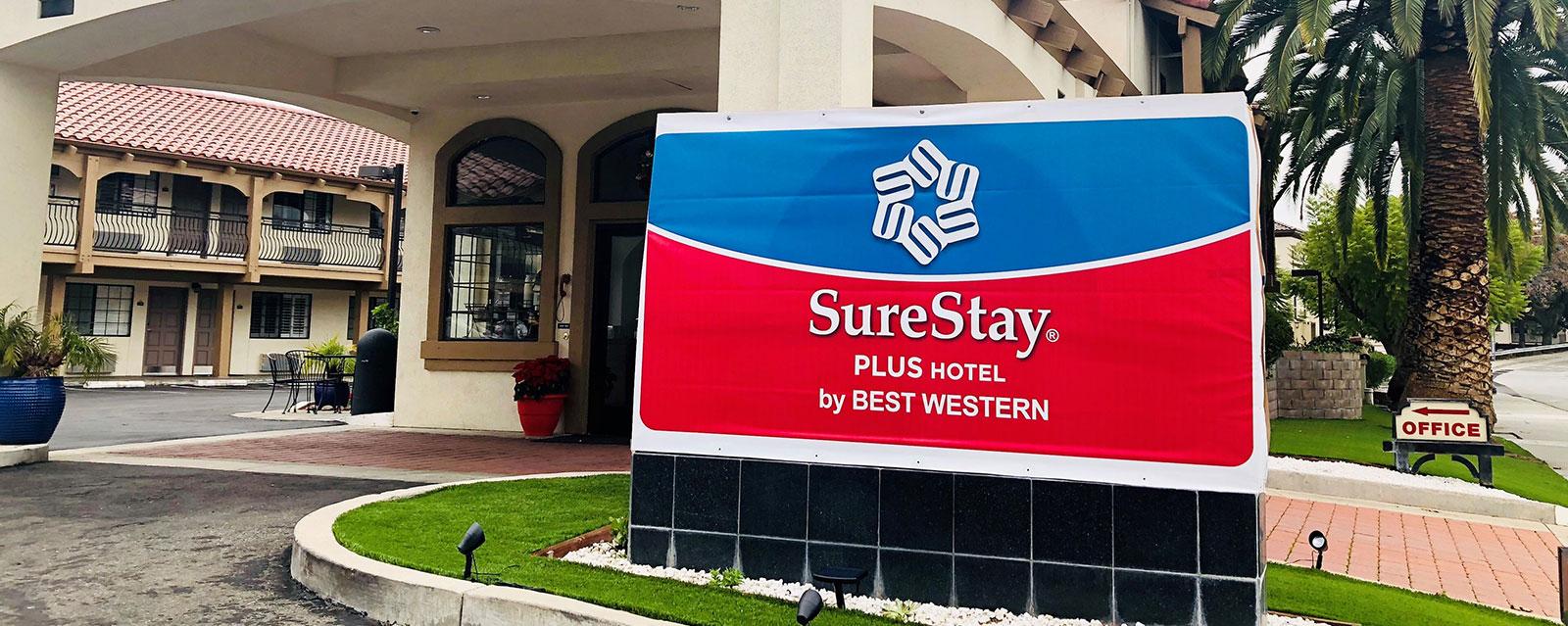Site Map of SureStay Plus Santa Clara Silicon Valley